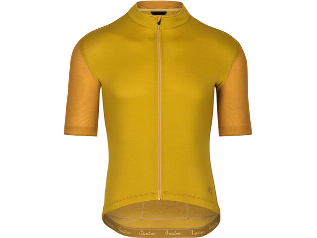 Isadore Signature Cycling 2.0 Jersey Shortsleeve Men olive oil/chai tea